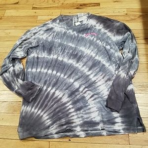 New pink Victoria's SECRET tye dye shirt